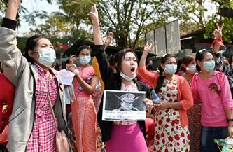 """""""الخارجية الأمريكية"""": قلقون من تقارير إطلاق قوات الأمن في ميانمار النار على المتظاهرين"""