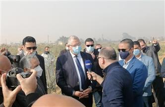 مقامة على 325 فدانا.. وزير الزراعة يتفقد معصرة الزيتون بكوم أوشيم   صور