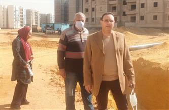 """مسئولو جهاز """"حدائق العاصمة"""" يتفقدون 29 ألف وحدة سكنية بمبادرة الرئيس """"سكن كل المصريين"""" بالمدينة صور"""