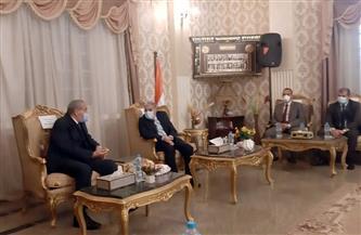 وزير التموين يصل إلى ديوان محافظة المنيا لافتتاح عدد من المنشآت | صور