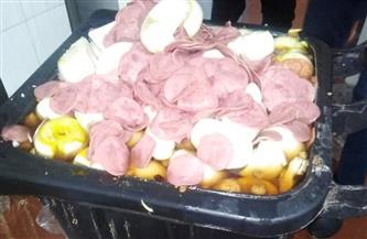 إعدام 800 كيلو أغذية غير صالحة للاستهلاك في بعض مطاعم وكافيهات المنصورة | صور