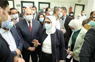 وزيرة الصحة تتفقد المركز الطبي بقرية «صول» بأطفيح.. وتوجه بسرعة تطويره