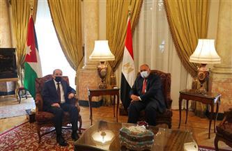 وزيرا خارجية مصر والأردن يناقشان تفاصيل الاجتماع الطارئ لوزراء خارجية جامعة الدول العربية حول فلسطين