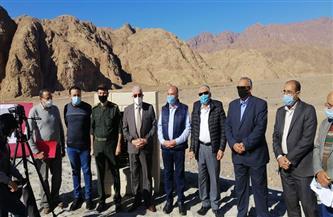 وزير الري يفتتح 100 منشأة للحماية من السيول في جنوب سيناء | صور