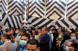 إقبال كبير من المحامين للتصويت في انتخابات النقابة الفرعية بكفر الشيخ | صور