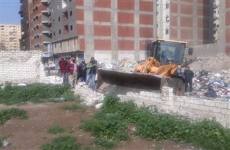حملة مكبرة لإيقاف أعمال البناء المخالف بأحياء الإسكندرية   صور