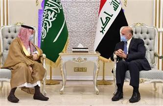 وزيرا خارجية السعودية والعراق يبحثان العلاقات الثنائية