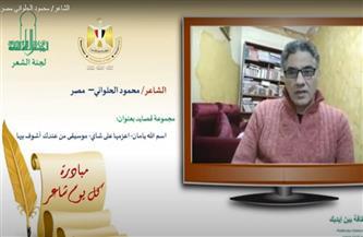 الشاعر محمود الحلواني ضيف مبادرة «كل يوم شاعر».. الليلة | فيديو