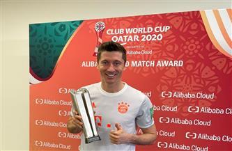 «ليفاندوفسكي» رجل مباراة الأهلي والبايرن في مونديال الأندية