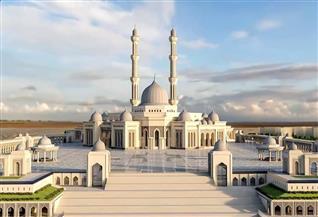 بسعة 107 آلاف مصلٍ.. شاهد صور مسجد مصر بالعاصمة الإدارية الجديدة