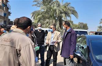 نائب محافظ أسيوط يتفقد مشروعات حياة كريمة بمركز منفلوط | صور
