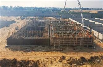 محافظ الشرقية يتفقد أعمال إنشاء محطة معالجة سنيطة الرفاعيين بفاقوس | صور