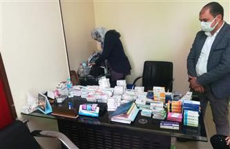 ضبط أدوية مهربة في حملة للتفتيش الصيدلي في 4 مراكز بالدقهلية| صور
