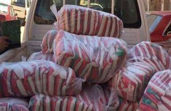 ضبط نصف طن سكر تمويني و50 كيلو لحوم فاسدة و30 مخالفة بالمخابز والأسواق في طنطا