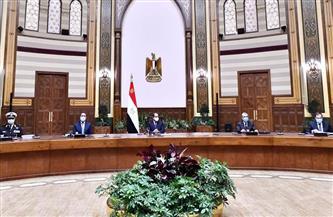 الرئيس السيسي يستقبل الرؤساء التنفيذيين لعدد من الشركات البلجيكية|صور