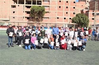 رئيس جامعة سوهاج يشهد ختام المعسكر التدريبي الرياضي الأول لكلية التربية النوعية | صور