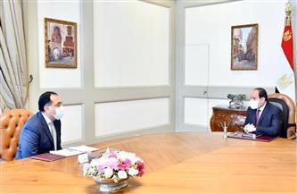 الرئيس السيسي يوجه بزيادة الاعتماد على التصنيع المحلي بمشروع تطوير قرى الريف