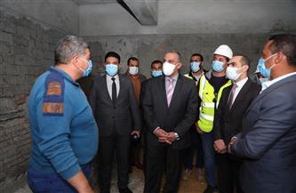 تكلفتها 9.5 مليون جنيه.. محافظ سوهاج يتفقد تطوير مقابر أخميم الجديدة في حي الكوثر| صور