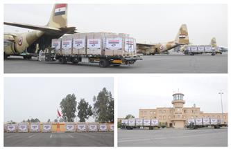 بتوجيهات الرئيس السيسي.. مصر ترسل مساعدات غذائية للأشقاء في جمهورية السودان | فيديو وصور