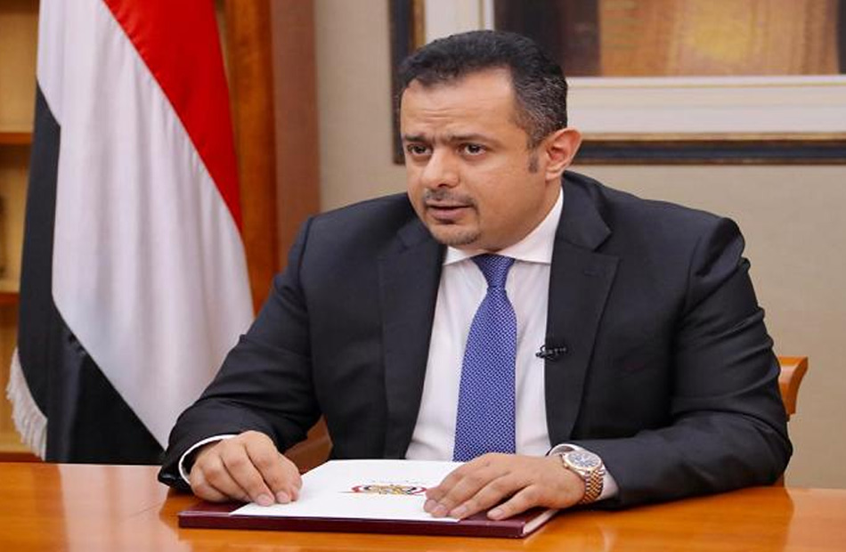 رئيس الوزراء اليمني يؤكد ضرورة التزام كل الأطراف باستكمال تنفيذ اتفاق الرياض