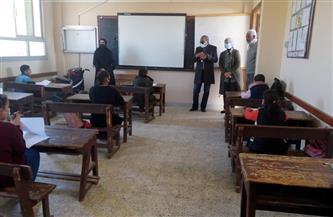 رئيسة مدينة سفاجا تتفقد لجان الامتحانات والإجراءات الاحترازية في المدارس | صور وفيديو