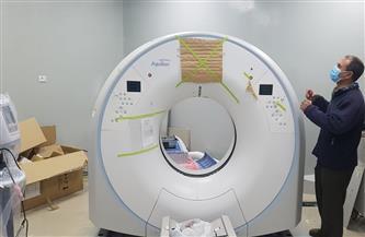 تشغيل جهاز أشعة مقطعية بتكلفة 4 ملايين جنيه بمستشفى صدر المحلة الكبرى | صور