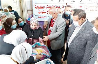محافظ البحيرة: تطعيم 602 ألف طفل ضد شلل الأطفال في اليوم الأول من الحملة | صور