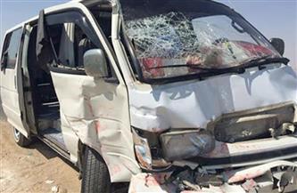 مصرع وإصابة 3 مواطنين في تصادم ميكروباص مع سيارة نقل بالغربية