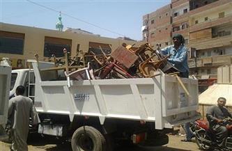 رفع 70 حالة إشغال وإزالة أكشاك مخالفة بالشرقية