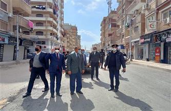 محافظ كفر الشيخ يتفقد شوارع العاصمة لمتابعة تطوير وإنشاء المحاور الجديدة | صور
