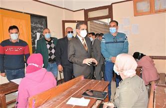 محافظ الغربية يتابع الوحدات المحلية وامتحانات الفصل الدراسي الأول بطنطا وقطور | صور