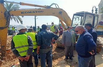 محافظ أسيوط يشدد على الانتهاء من أعمال إصلاح خط الغاز الطبيعي بكورنيش النيل   صور
