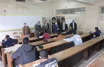 رئيس جامعة الأزهر يتفقد لجان الامتحانات ويحذر الطلاب من الانسياق وراء الشائعات | صور