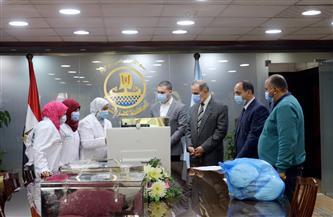 محافظ كفر الشيخ يسلم 3 سيدات شنط إسعافات بيطرية | صور