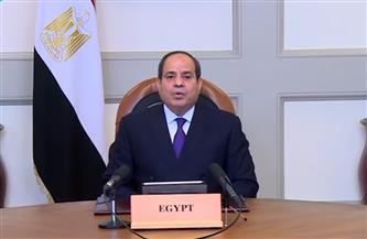 الرئيس السيسي: مصر تسعى دائمًا لتحقيق التنمية المستدامة في إفريقيا