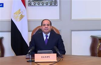 الرئيس السيسي يجدد التزام مصر بمسئوليتها في ملف إعادة الإعمار والتنمية بإفريقيا