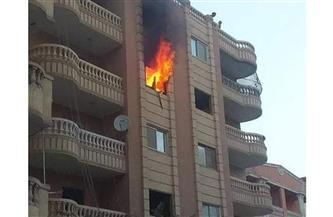 انتداب المعمل الجنائي في حريق عقار منطقة عين شمس