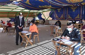 رئيس جامعة سوهاج يتفقد امتحانات الفصل الدراسي الأول بكليتي الزراعة والآداب | صور
