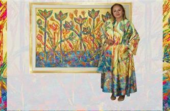 """انطلاق معرض """"طوى أرض النور"""" للفنانة رندة فؤاد.. 13 مارس"""