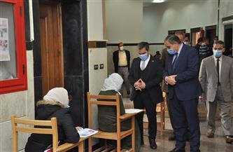 رئيس جامعة كفر الشيخ يواصل جولاته التفقدية لأعمال الامتحانات لليوم الثالث |صور