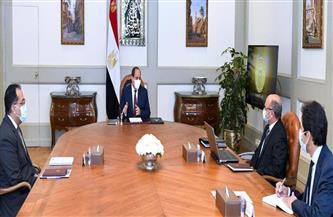 الرئيس السيسي يجتمع مع رئيس الوزراء ووزير العدل