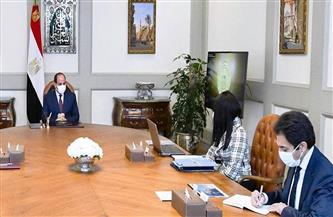 المشاط تستعرض أمام الرئيس السيسي جهود التعاون الإنمائي مع الشركاء الدوليين