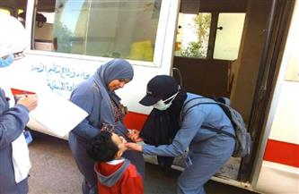 وكيل الصحة بالبحر الأحمر يتابع فاعليات اليوم الثاني لحملة التطعيم ضد شلل الأطفال بالغردقة | صور