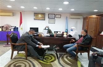 لجنة من وزارة التنمية المحلية تتابع المشروعات بمدينة سفاجا| صور