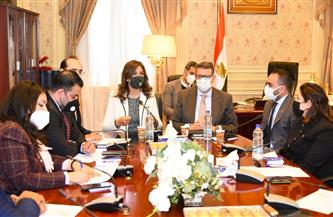 نبيلة مكرم: الحفاظ على حقوق المصريين بالخارج على رأس أولويات وزارة الهجرة| صور