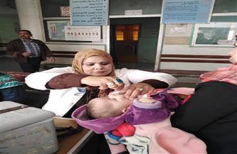 تطعيم 836 ألف طفل خلال الحملة القومية ضد شلل الأطفال بجميع مراكز المنيا