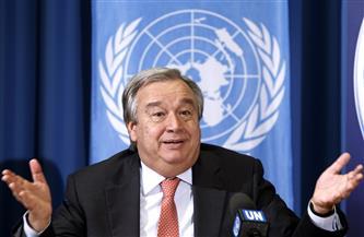 أمين عام الأمم المتحدة يحث على وضع حد لمعاناة السوريين