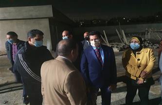 وزير الرياضة: خطة الوزارة تتركز على النهوض بالبنية التحتية لمراكز الشباب | صور