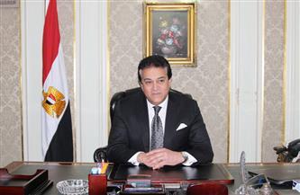 وزير التعليم العالي يتفقد إنشاءات المجمع الأكاديمي الجديد للجامعة المصرية اليابانية للعلوم والتكنولوجيا|صور