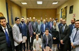 سفير مصر في موسكو يُكرم أعضاء البعثة التعليمية في روسيا| صور